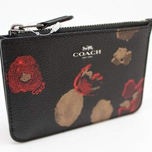 NWT Coach Medium Wallet ID Card Case Key Coin
